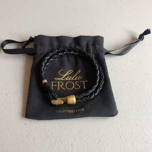 NWOT Lulu Frost leather bracelet
